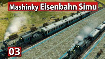Mashinky | Gebäudeausbau und Kohle scheffeln ► #3 ► Eisenbahn Aufbau Simulator Lets Play deutsch