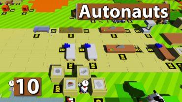 Autonauts | Hilfe, ich bin in 3D, Cool! ► #10 ► Lets Play Roboter Simulator deutsch german