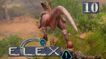 ELEX | FIESE Viecher überall… ► #10 PostApo SciFantasy RPG Lets Play ELEX deutsch