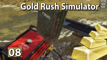 GOLDGRÄBER SIMULATOR | Automatisch Waschen, NEUE Pumpe 💰 #08 Gold Rush Gameplay deutsch