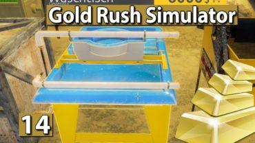 GOLDGRÄBER SIMULATOR   Ein Waschtisch und eine Kneipe ► #14 Gold Rush Gameplay deutsch