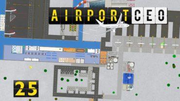 Airport CEO   MEGA Gepäck Center ► #25 Flughafen Bau Management Simulation deutsch german