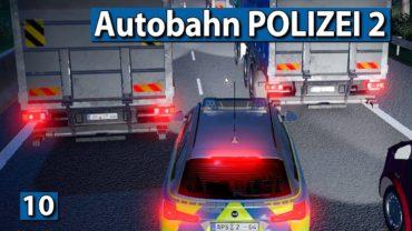 AUTOBAHN POLIZEI 2 🚔 Im KREIS fahren? Ganz schön blöd… ► #9 Autobahn Police Simulator 2
