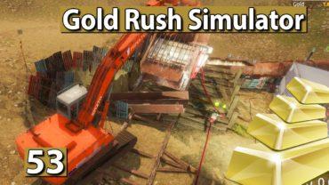 GOLDGRÄBER SIMULATOR 💰 Tier 3 im Betrieb Grosse Anlage läuft ► #53 Gold Rush Gameplay deutsch