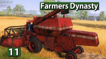 Farmers Dynasty 🚜 MAP und MÄHDRESCHER erkunden bei SAUWETTER ►#11 Lets Play deutsch