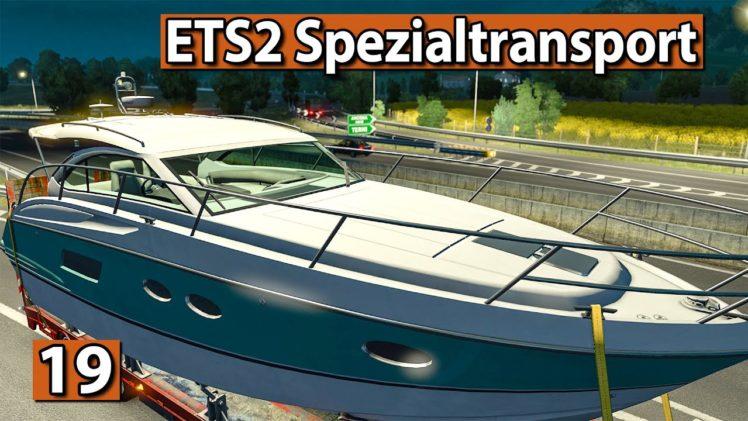 ETS2 SPEZIALTRANSPORT 🚚 BOOT Transport zur Queen ► #19 Euro Truck Simulator 2 DLCs deutsch