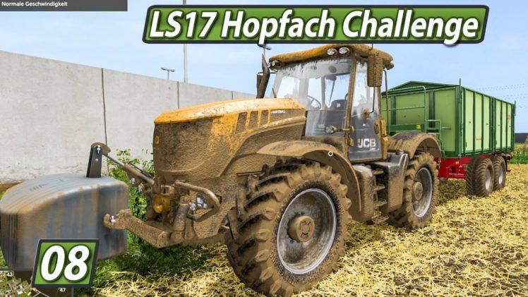 LS17 HOPFACH 🚜 UPDATE der Map und ERNTE ► #8 LANDWIRTSCHAFTS SIMULATOR 17 Challenge