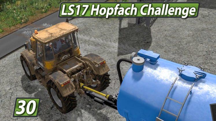 LS17 HOPFACH 🚜 Tierschutz Simulator? ► #30 LANDWIRTSCHAFTS SIMULATOR 17 Challenge