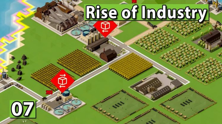 RISE of INDUSTRY 🏭 PIZZA für ALLE! ► #7 WiSim Gameplay deutsch german