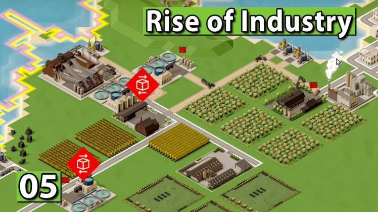 RISE of INDUSTRY 🏭 Milch Produkt Produktion ► #5 WiSim Gameplay deutsch german