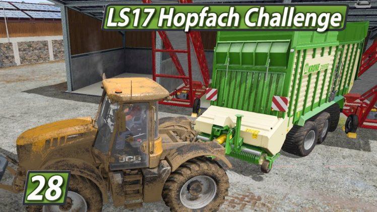 LS17 HOPFACH 🚜 Wie WOW mein Leben veränderte ► #28 LANDWIRTSCHAFTS SIMULATOR 17 Challenge