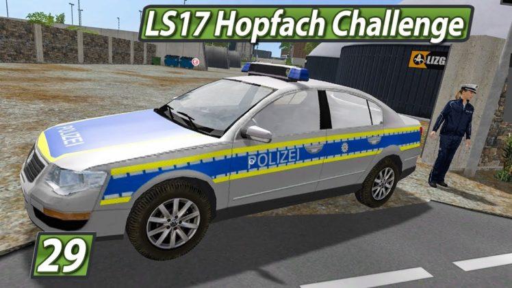 LS17 HOPFACH 🚜 POLIZEI BLOCKADE! ► #29 LANDWIRTSCHAFTS SIMULATOR 17 Challenge