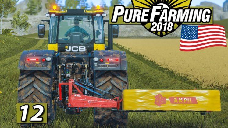PURE FARMING 2018 🚜 USA MEGAMAP Mähen und Planung ► #12 Landwirtschaft Weltweit deutsch