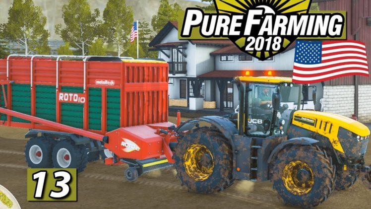 PURE FARMING 2018 🚜 Maschinen und Silage USA MEGAMAP ► #13 Landwirtschaft Weltweit deutsch