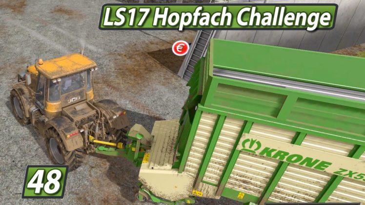 LS17 HOPFACH 🚜 Abschied von YouTube ► #48 LANDWIRTSCHAFTS SIMULATOR 17 Challenge