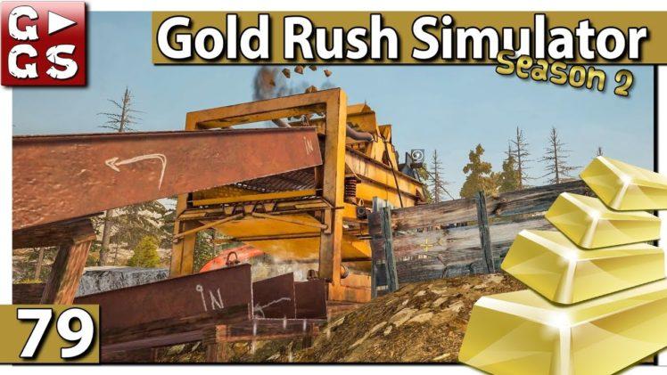 GOLDGRÄBER SIMULATOR 💰 FÜLLEN und LEEREN #79 Gold Rush Gameplay deutsch